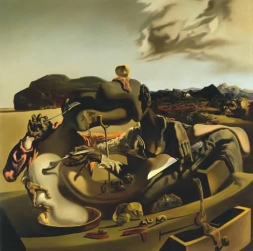Canibalismo otoñal (1936). Salvador Dalí