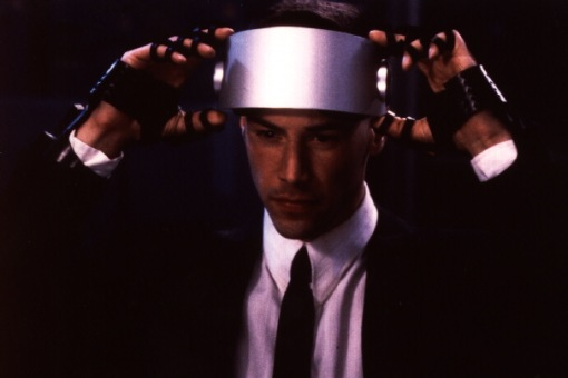 Escena de Johnny Mnemonic