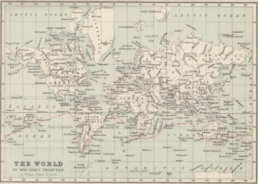 Mapa Darwin
