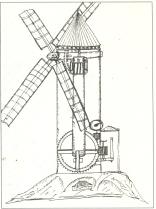 Molinos de viento de torre y de poste